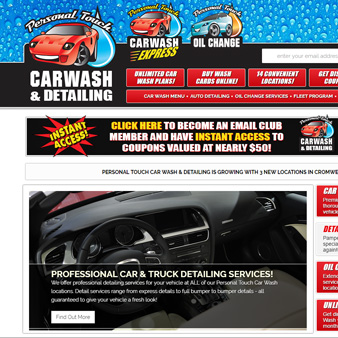 Personal Touch Car Wash & Detailing